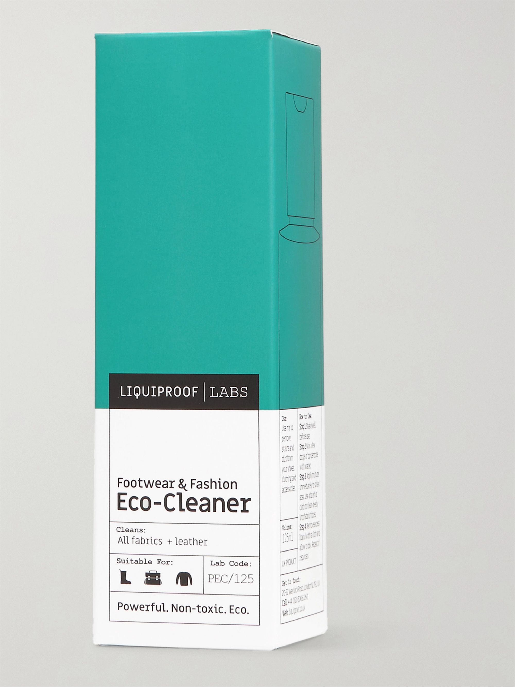 Liquiproof LABS Footwear & Fashion Eco-Cleaner, 125ml