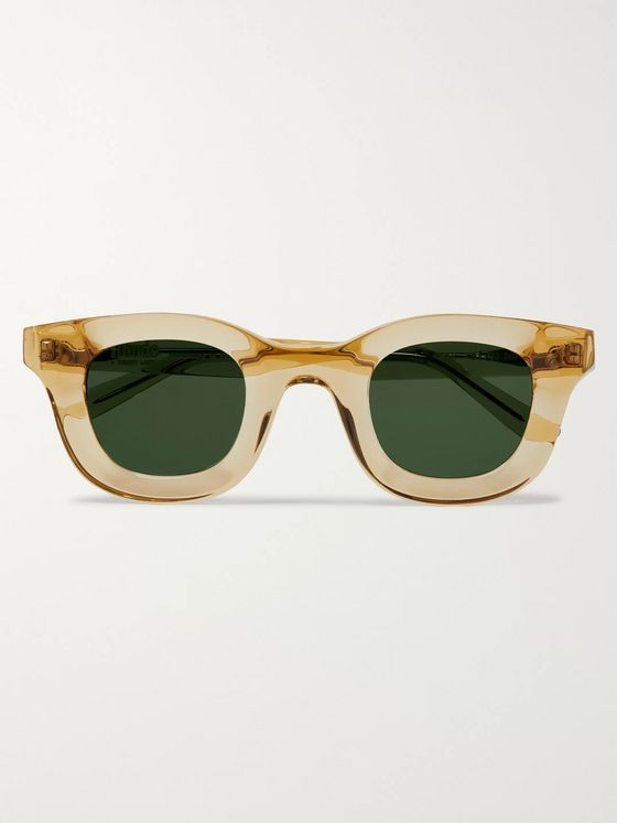 Rhude + Thierry Lasry Rhodeo Square-Frame Acetate Sunglasses