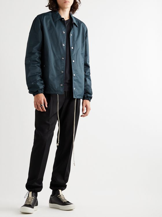 Rick Owens DRKSHDW Coated Cotton-Blend Blouson Jacket