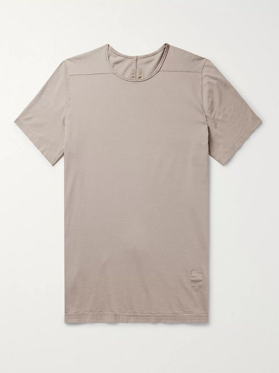 Rick Owens DRKSHDW Level Cotton-Jersey T-Shirt