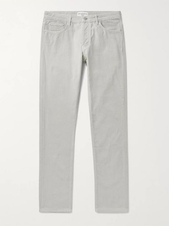 Officine Générale Kurt Cotton-Corduroy Trousers