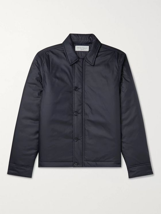 Officine Générale Samuel PrimaLoft Padded Nylon Jacket