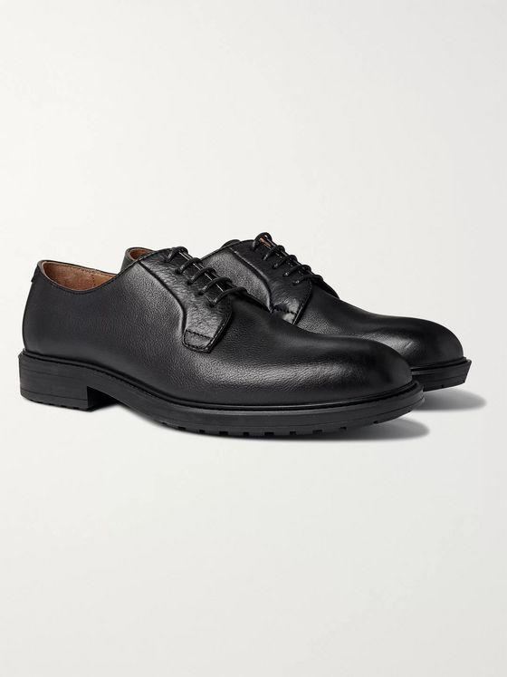 Officine Générale Full-Grain Leather Derby Shoes