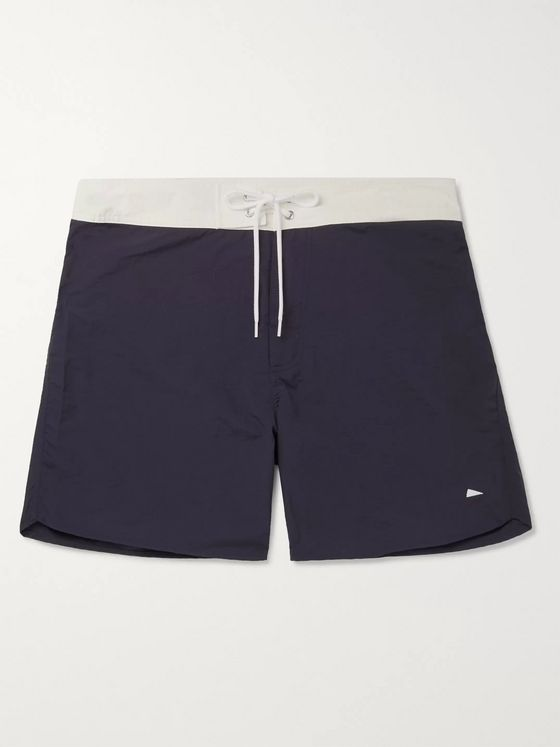 Pilgrim Surf + Supply Dorry Slim-Fit Mid-Length Swim Shorts