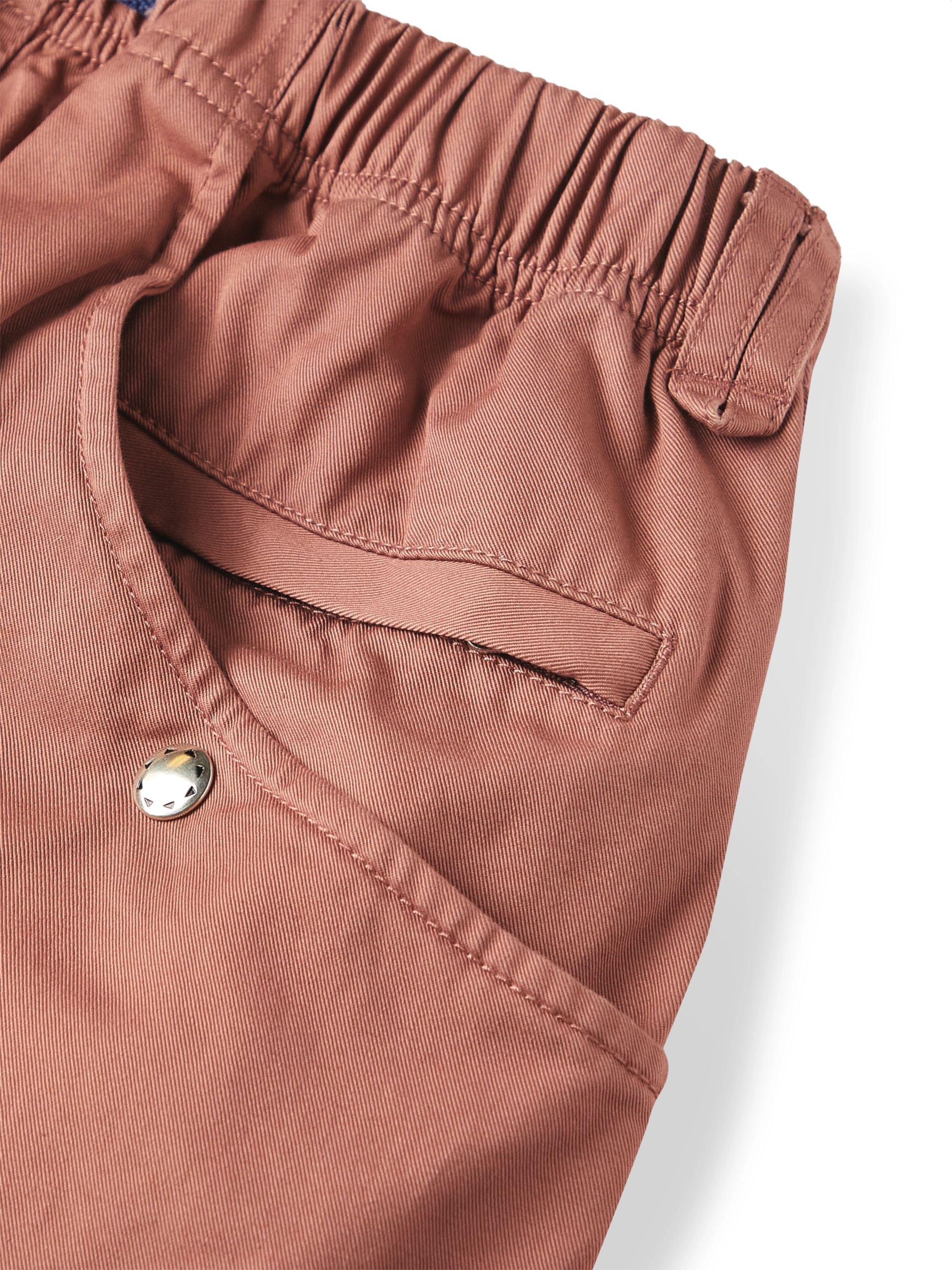 Pilgrim Surf + Supply Salathe Belted Cotton-Twill Climbing Shorts