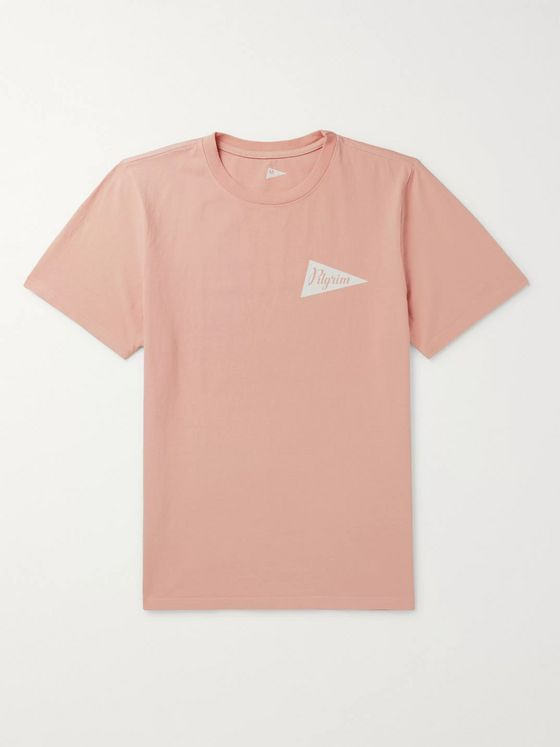 Pilgrim Surf + Supply Logo-Print Cotton-Jersey T-Shirt