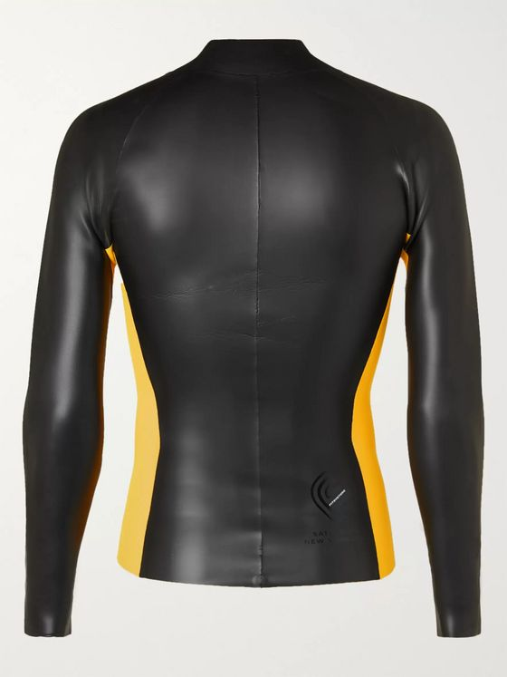 Saturdays NYC Colour-Blocked Neoprene Wetsuit Jacket