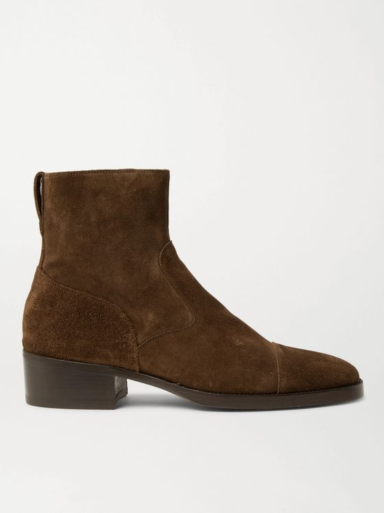 TOM FORD Rochester Suede Boots