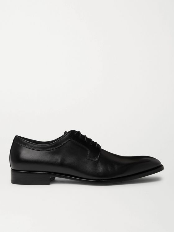 DUNHILL Leather Derby Shoes