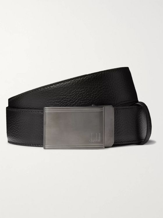Dunhill 4cm Full-Grain Leather Belt