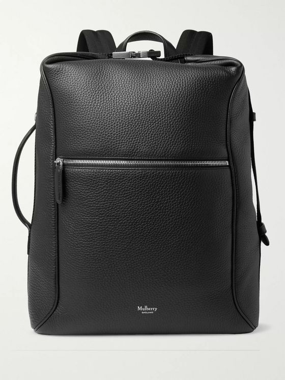 Mulberry Urban Pebble-Grain Leather Backpack