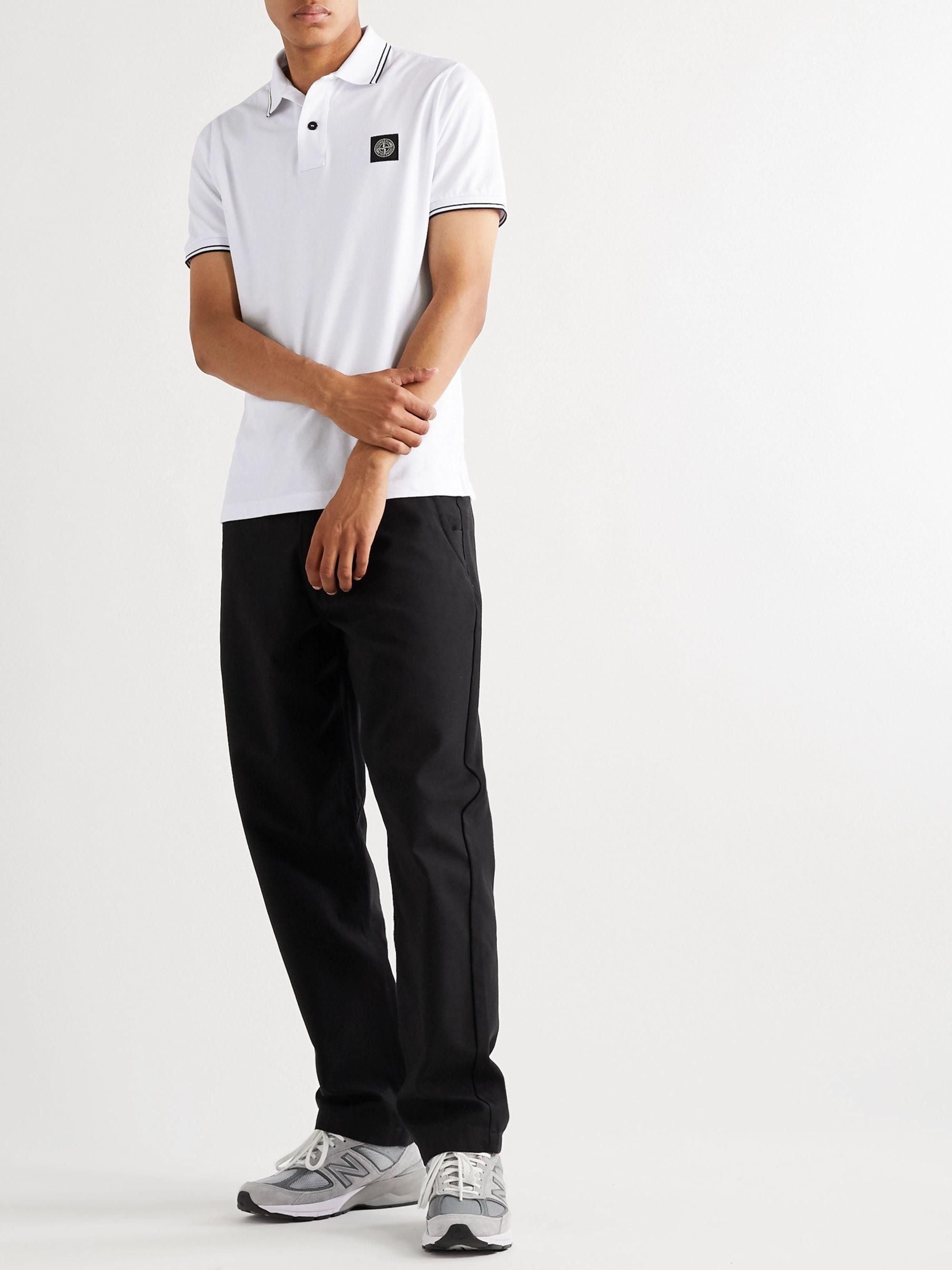 Cotton polo shirt STONE ISLAND