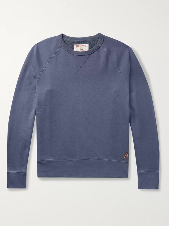 Birdwell Loopback Cotton-Jersey Sweatshirt