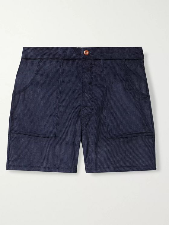 Birdwell Cotton-Corduroy Shorts