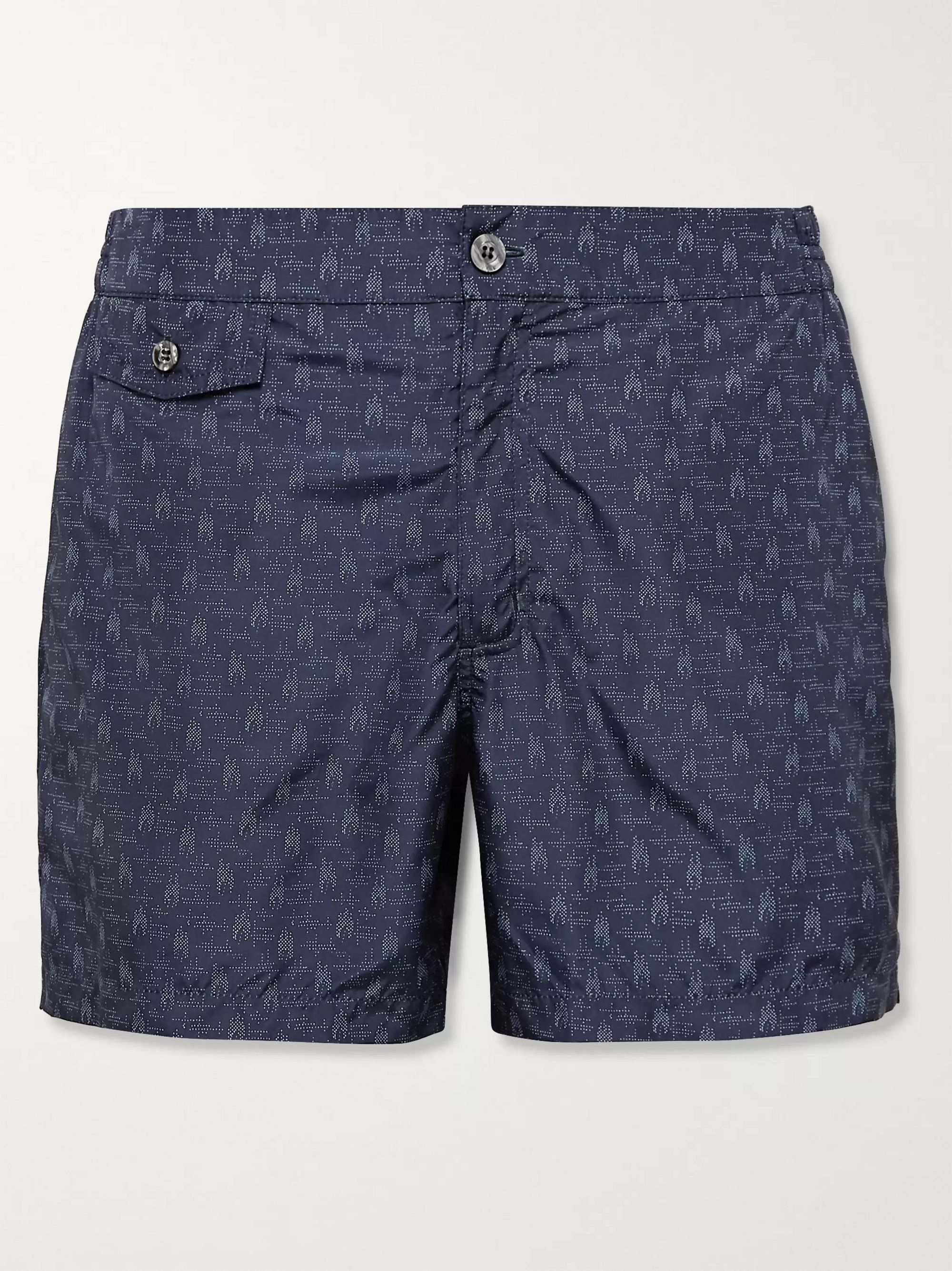 Incotex Printed Swim Shorts