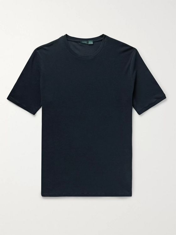Incotex Cotton-Piqué T-Shirt