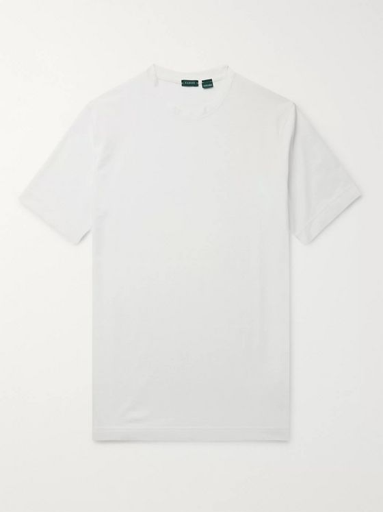 Incotex Ice Cotton-Jersey T-Shirt