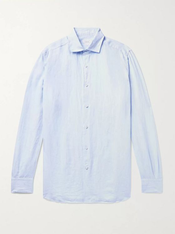 Incotex Feelini Slim-Fit Linen Shirt