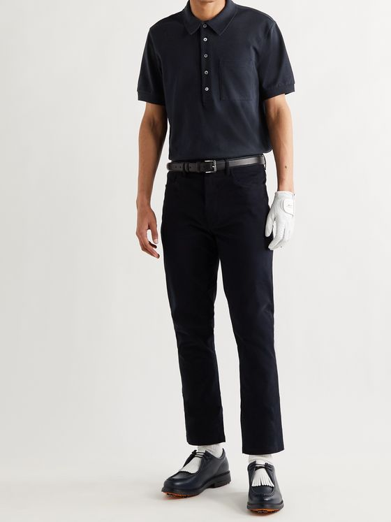 MR P. Slim-Fit Cotton-Piqué Golf Polo Shirt