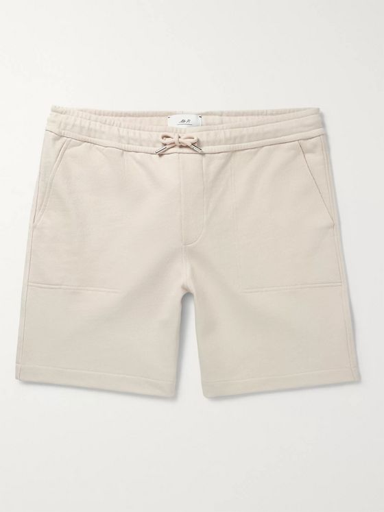 Mr P. Loopback Cotton-Jersey Drawstring Shorts
