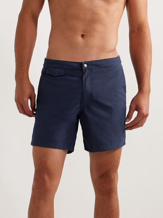 Sunspel Slim-Fit SEAQUAL Swim Shorts