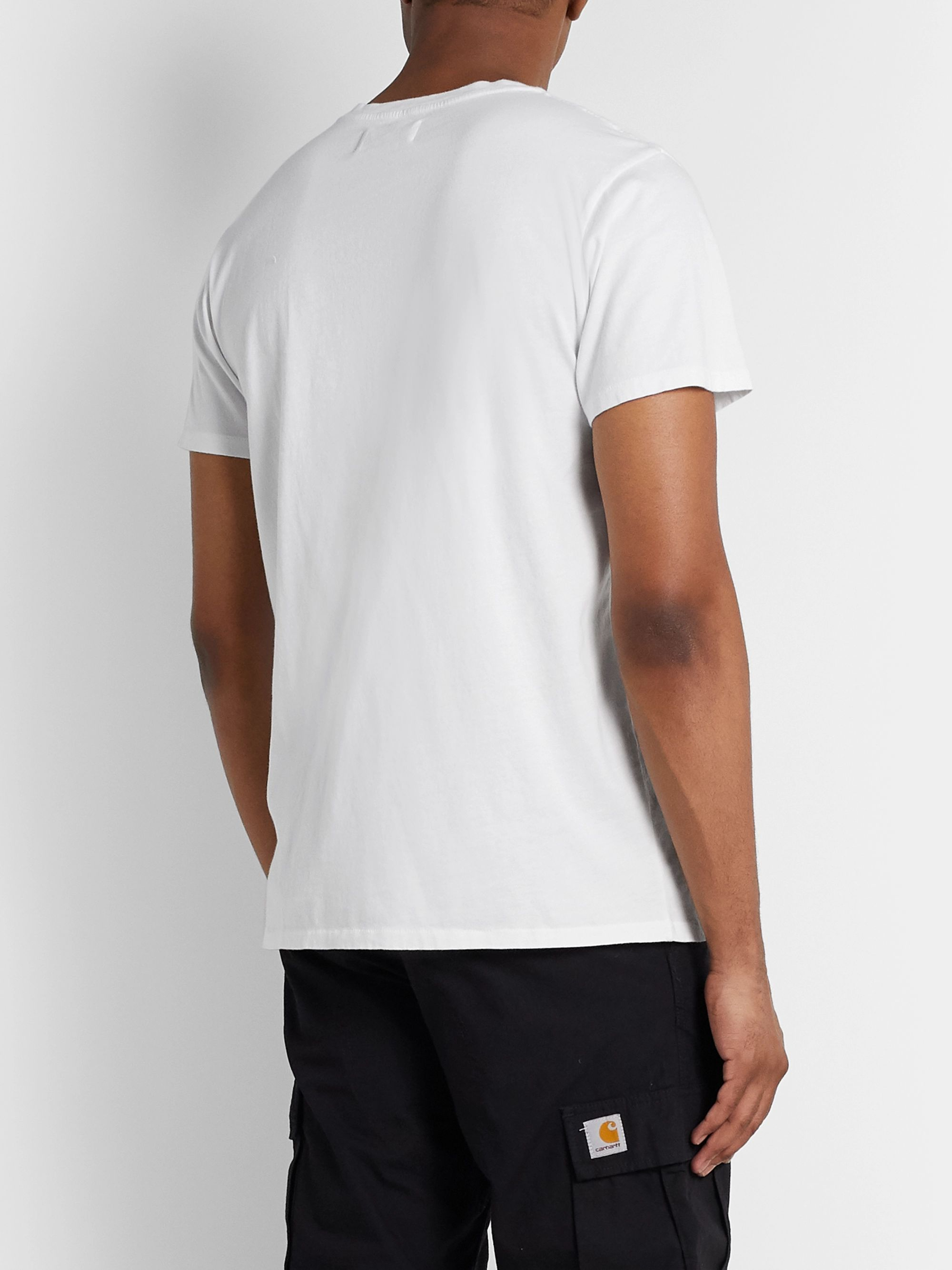 Pasadena Leisure Club Printed Cotton-Jersey T-Shirt