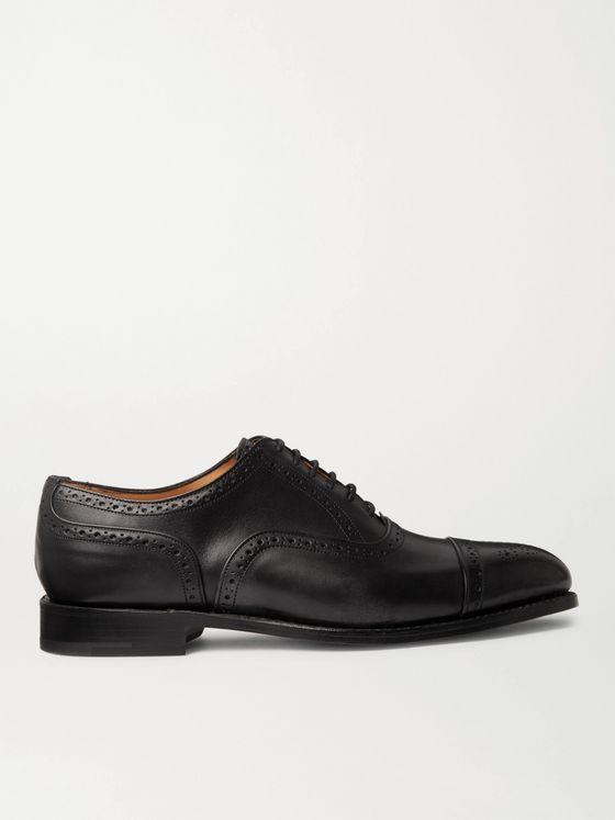 TRICKER'S Stockton Leather Brogue Oxford Shoes