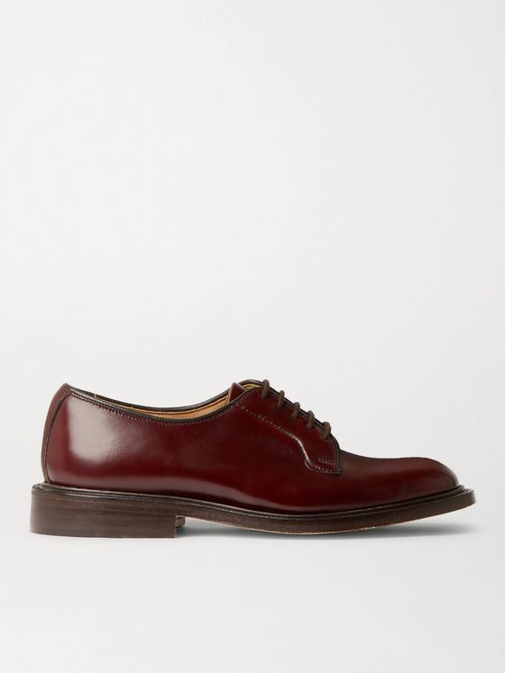 Tricker's Robert Leather Derby Shoes