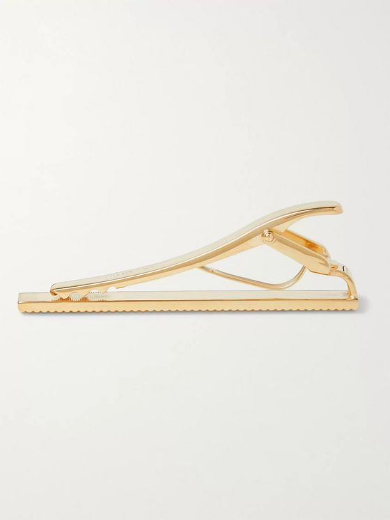 Lanvin Gold-Plated Tie Bar