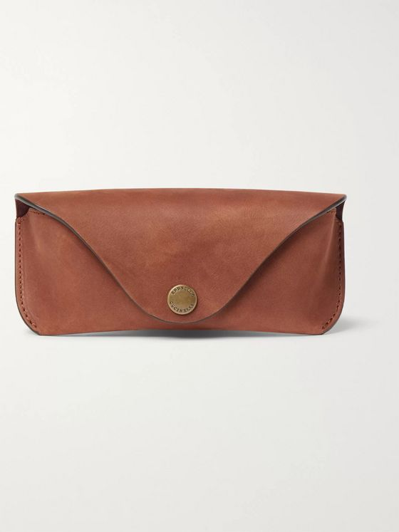 Brunello Cucinelli Nubuck Sunglasses Case
