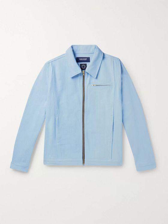 Noon Goons Glasser Oversized Garment-Dyed Denim Jacket