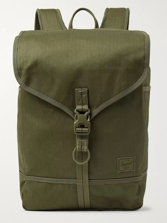 Herschel Supply Co Surplus Purcell Herringbone Canvas Backpack