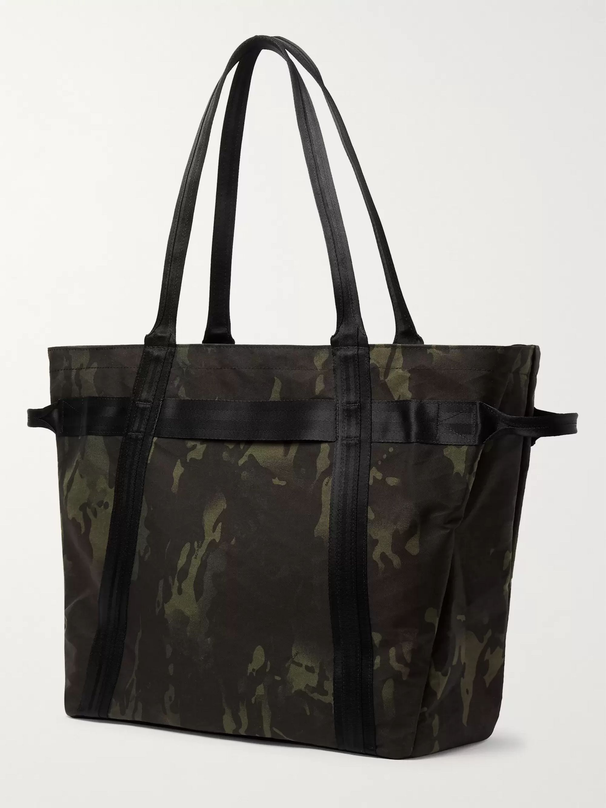 Herschel Supply Co Alexander Camouflage-Print Sailcloth Tote Bag