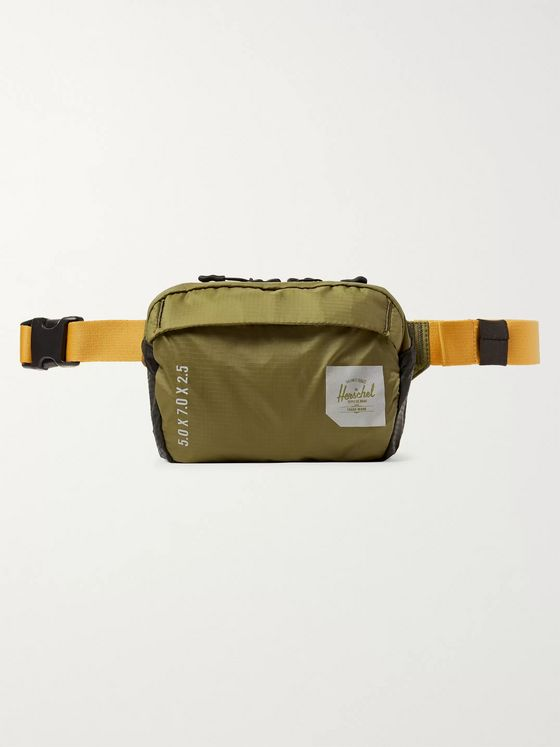Herschel Supply Co Trail Tour Small Ultralight Nylon-Ripstop Belt Bag
