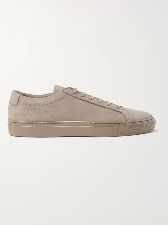 Common Projects Achilles Lux Nubuck Sneakers