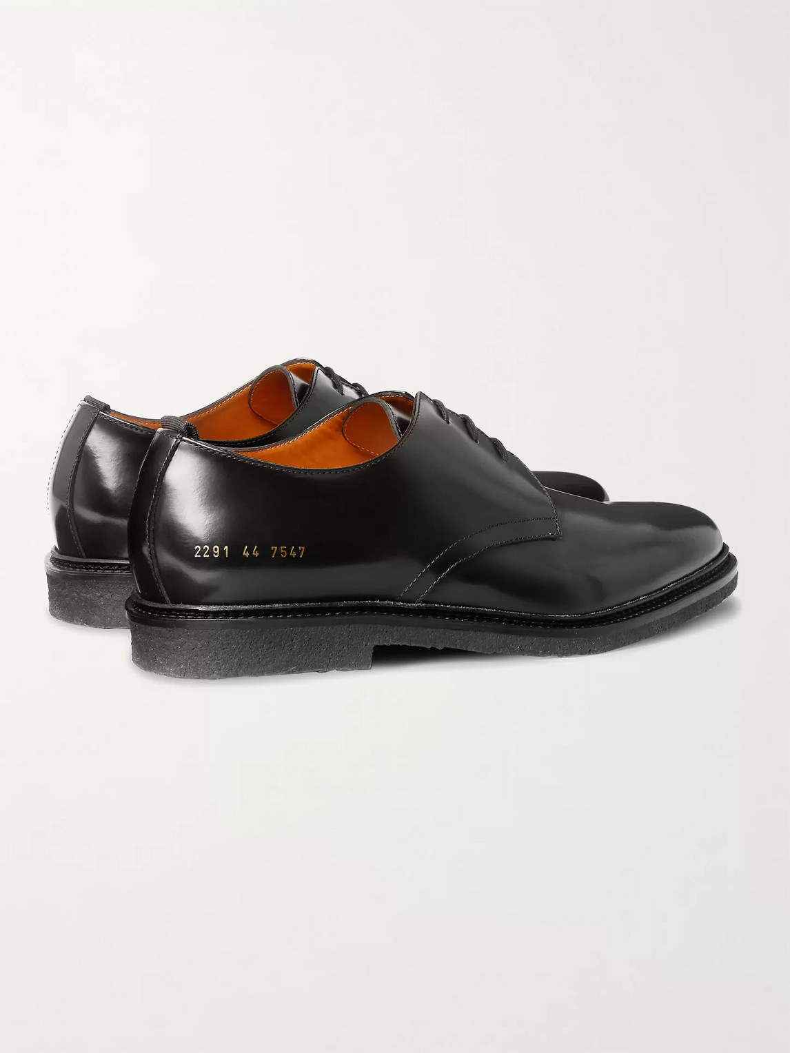 COMMON PROJECTS Leathers LEATHER DERBY SHOES