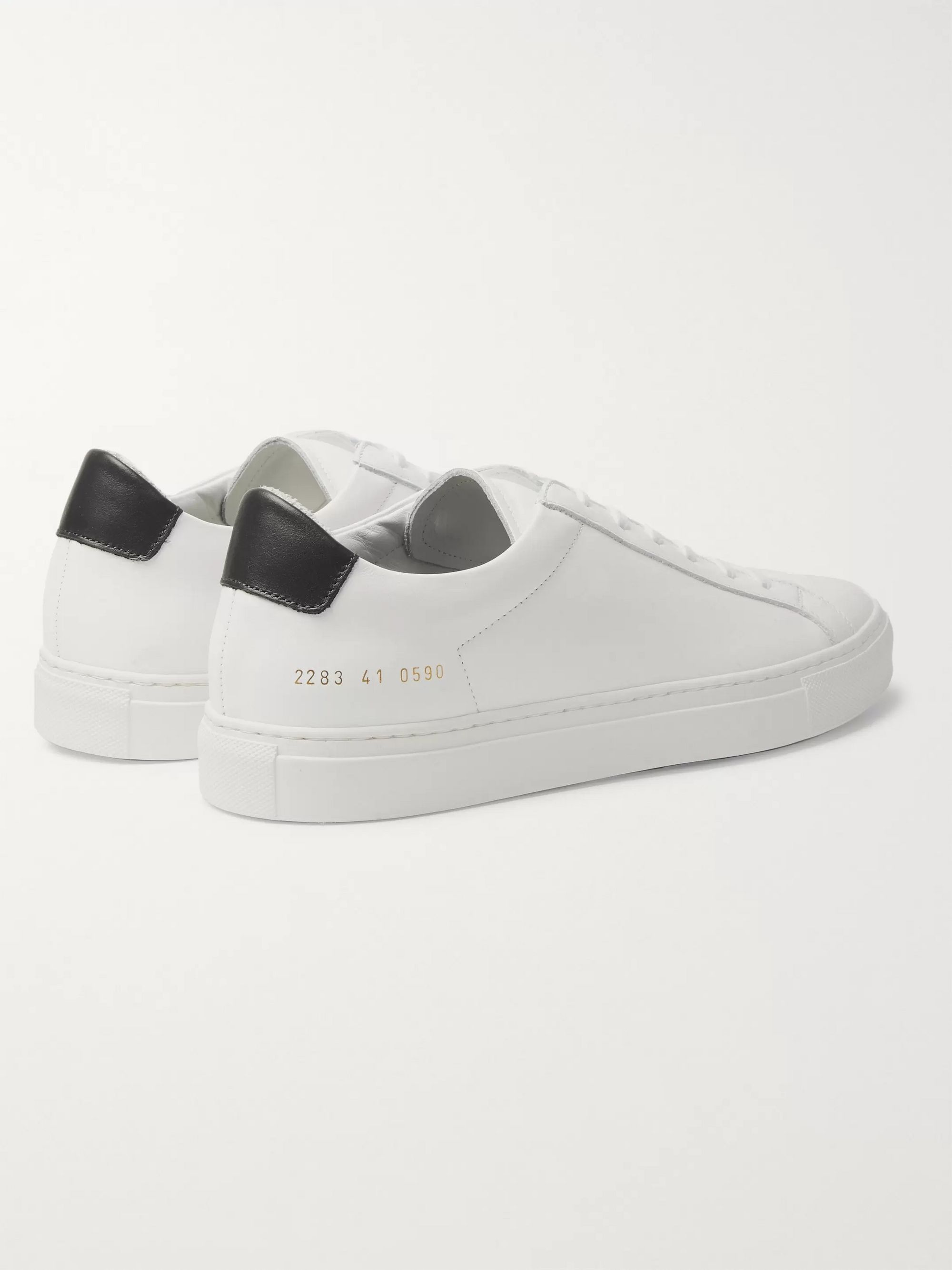 Common Projects Retro Low Leather Sneakers