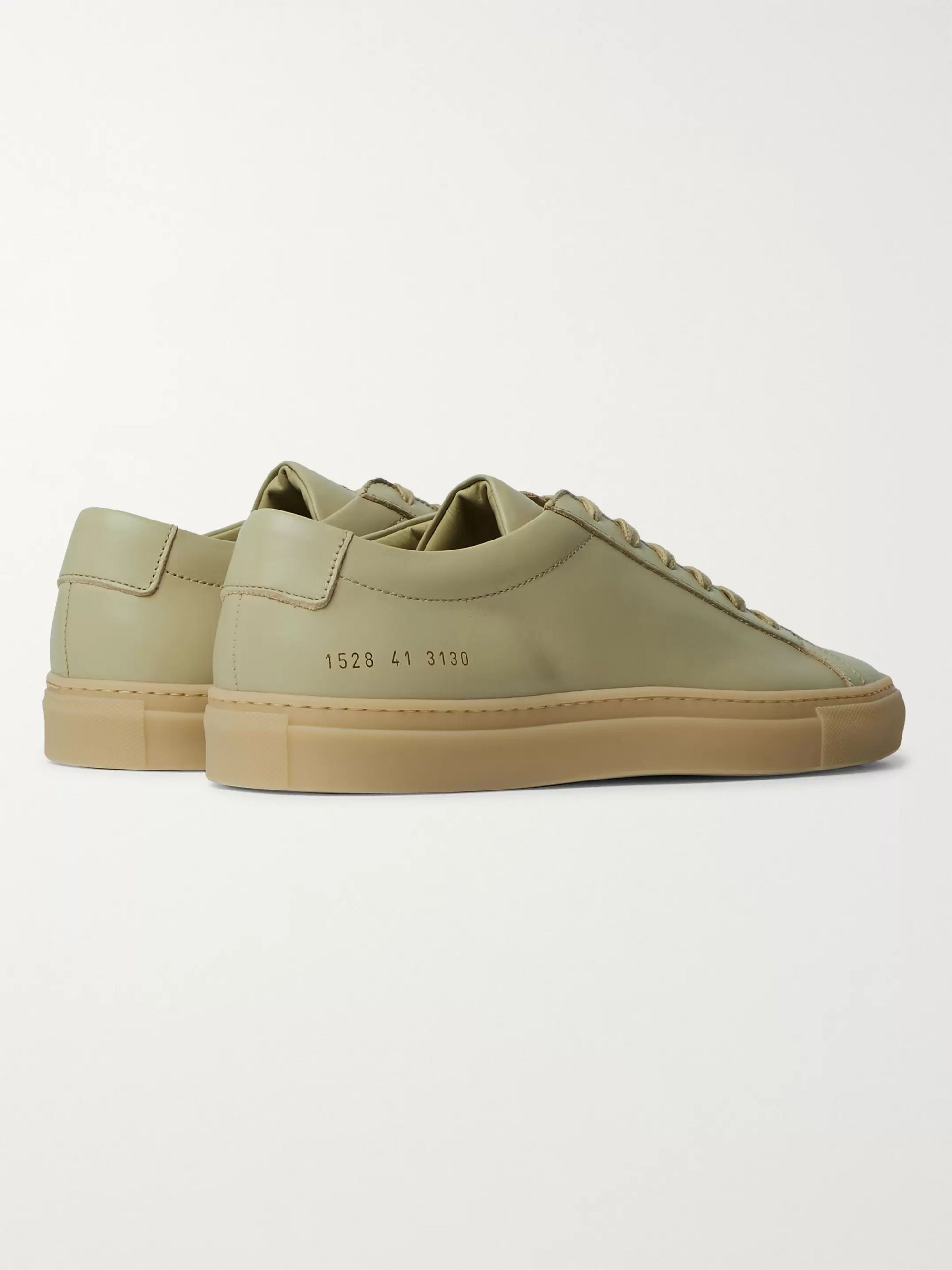 Beige Original Achilles Leather Sneakers | Common Projects