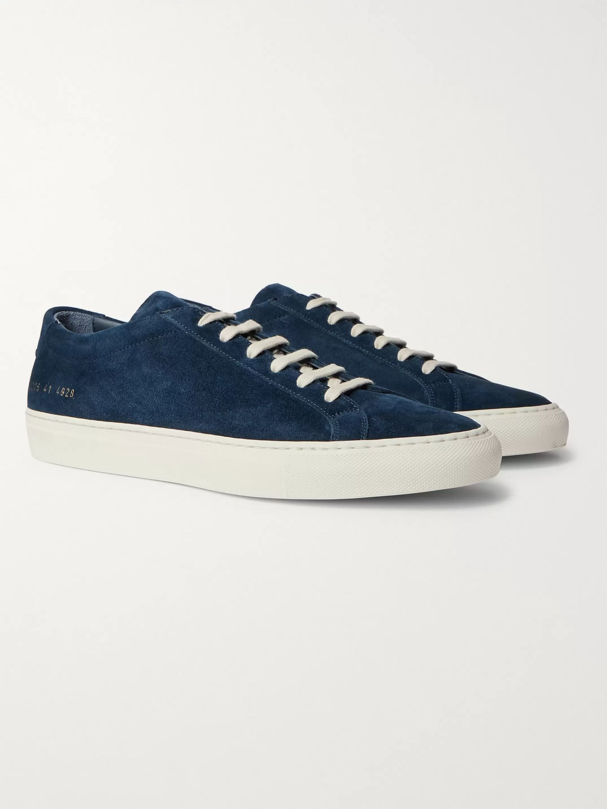 Common Projects Achilles Suede Sneakers