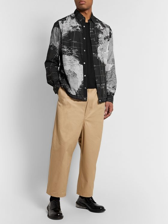 Sacai Printed Shell Shirt Jacket