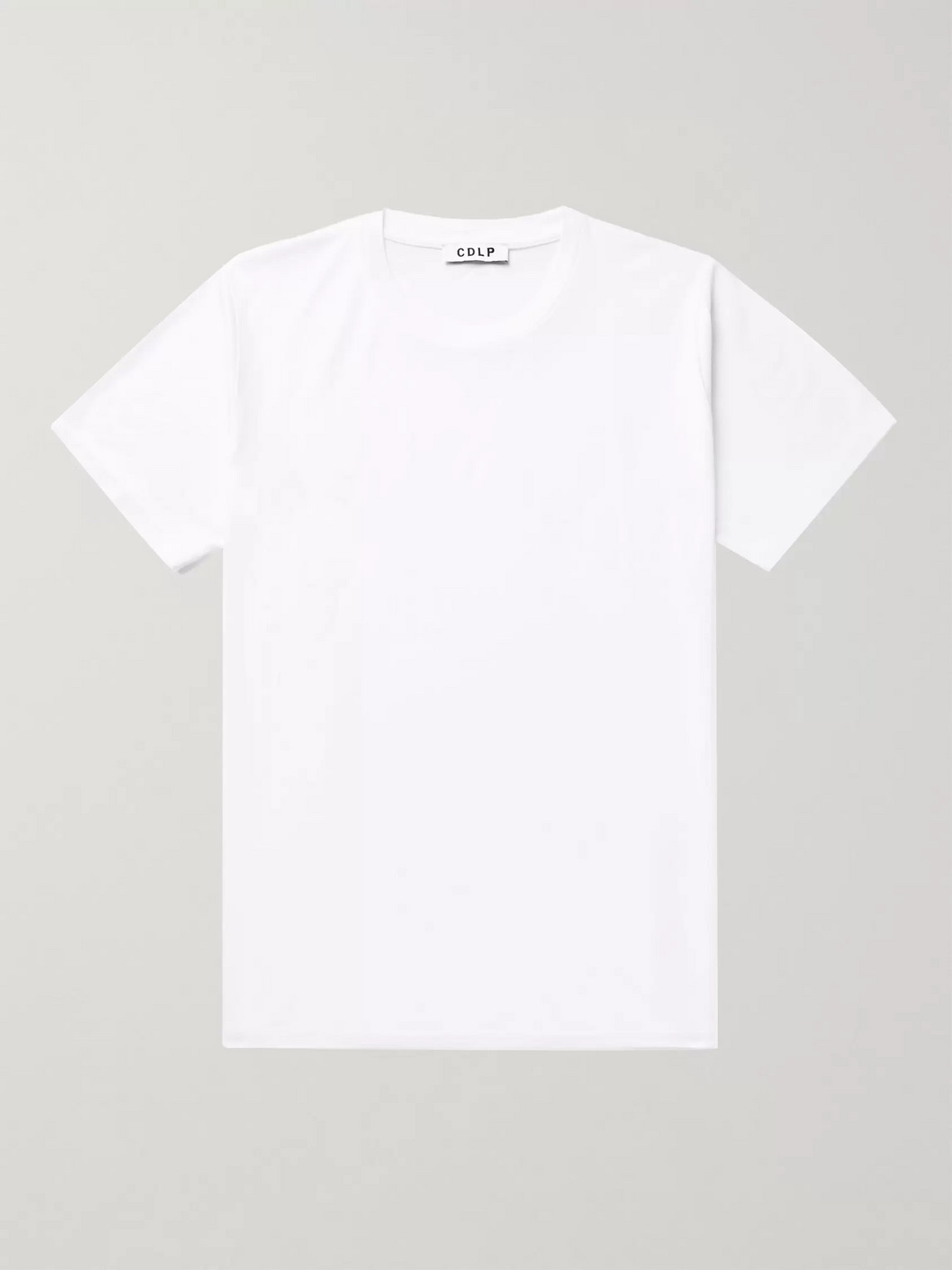 CDLP - Lyocell and Pima Cotton-Blend T-Shirt - Men - White