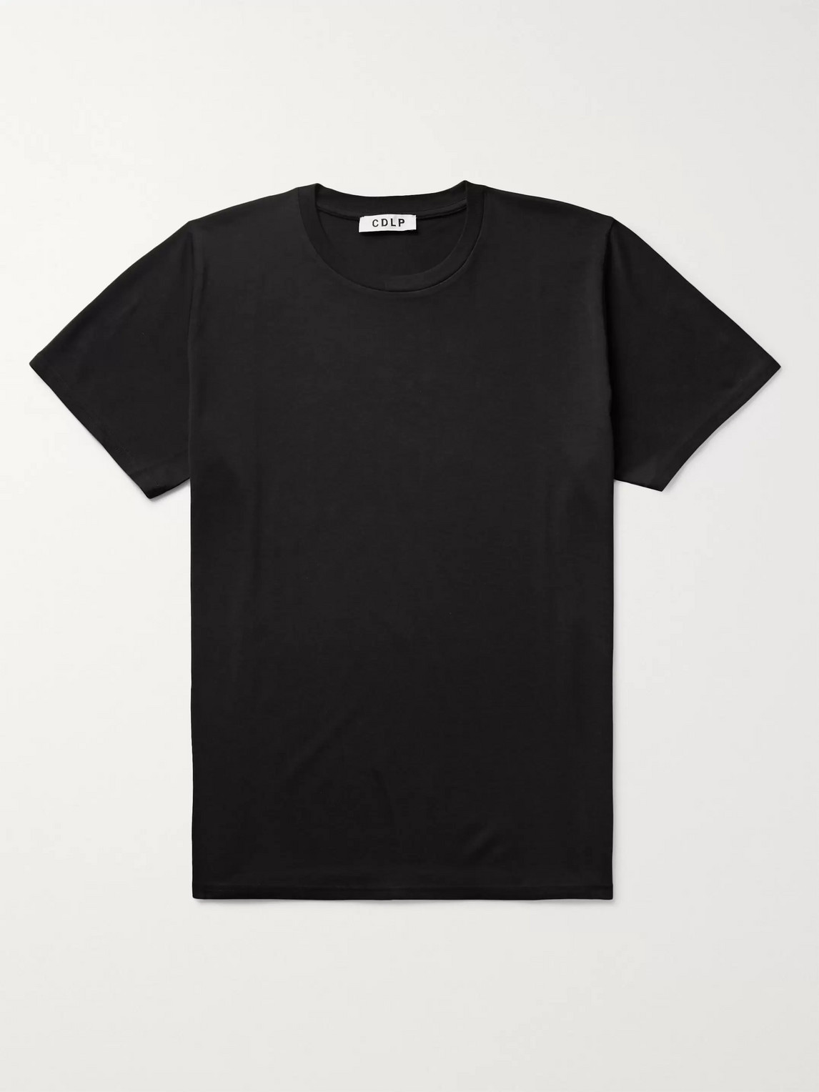 CDLP - Lyocell and Pima Cotton-Blend T-Shirt - Men - Black
