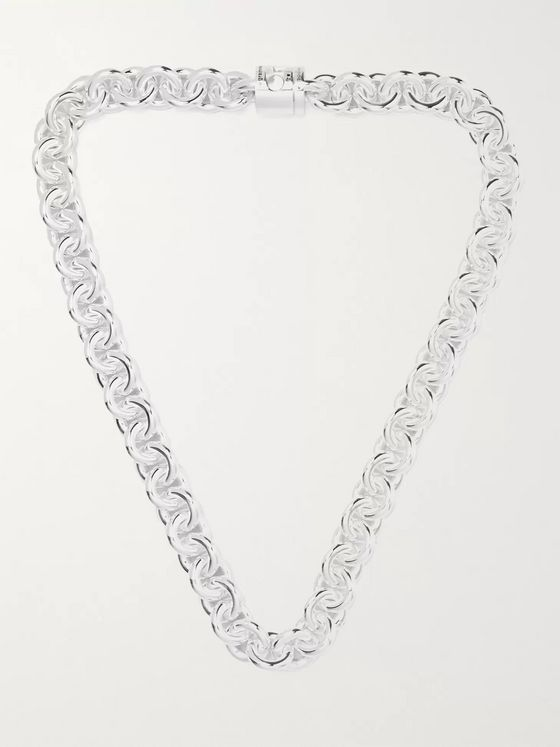 LE GRAMME Le 253 Sterling Silver Chain Necklace