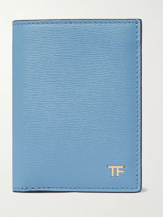 TOM FORD Textured-Leather Bifold Cardholder