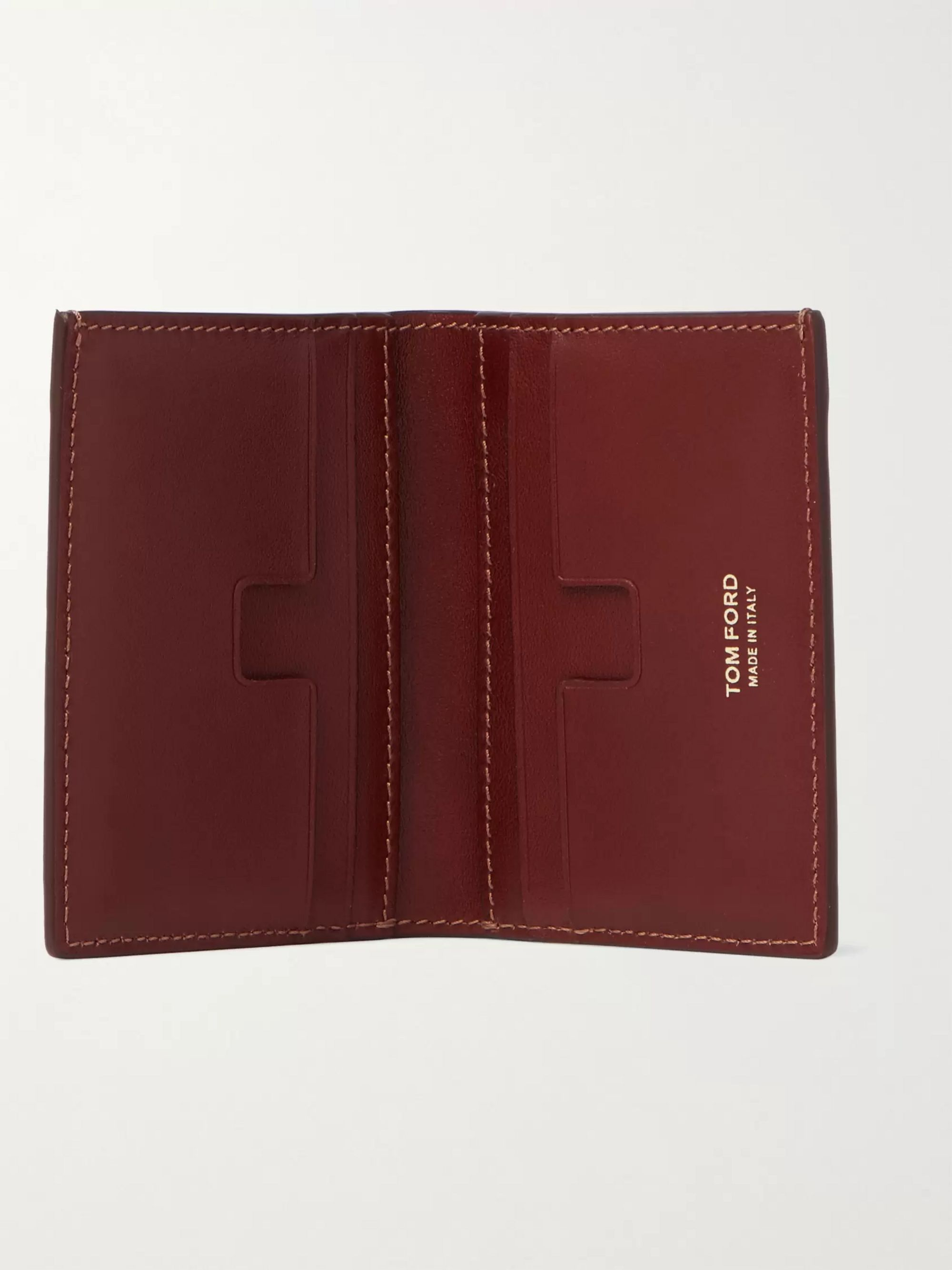 TOM FORD Leather Bilfold Cardholder