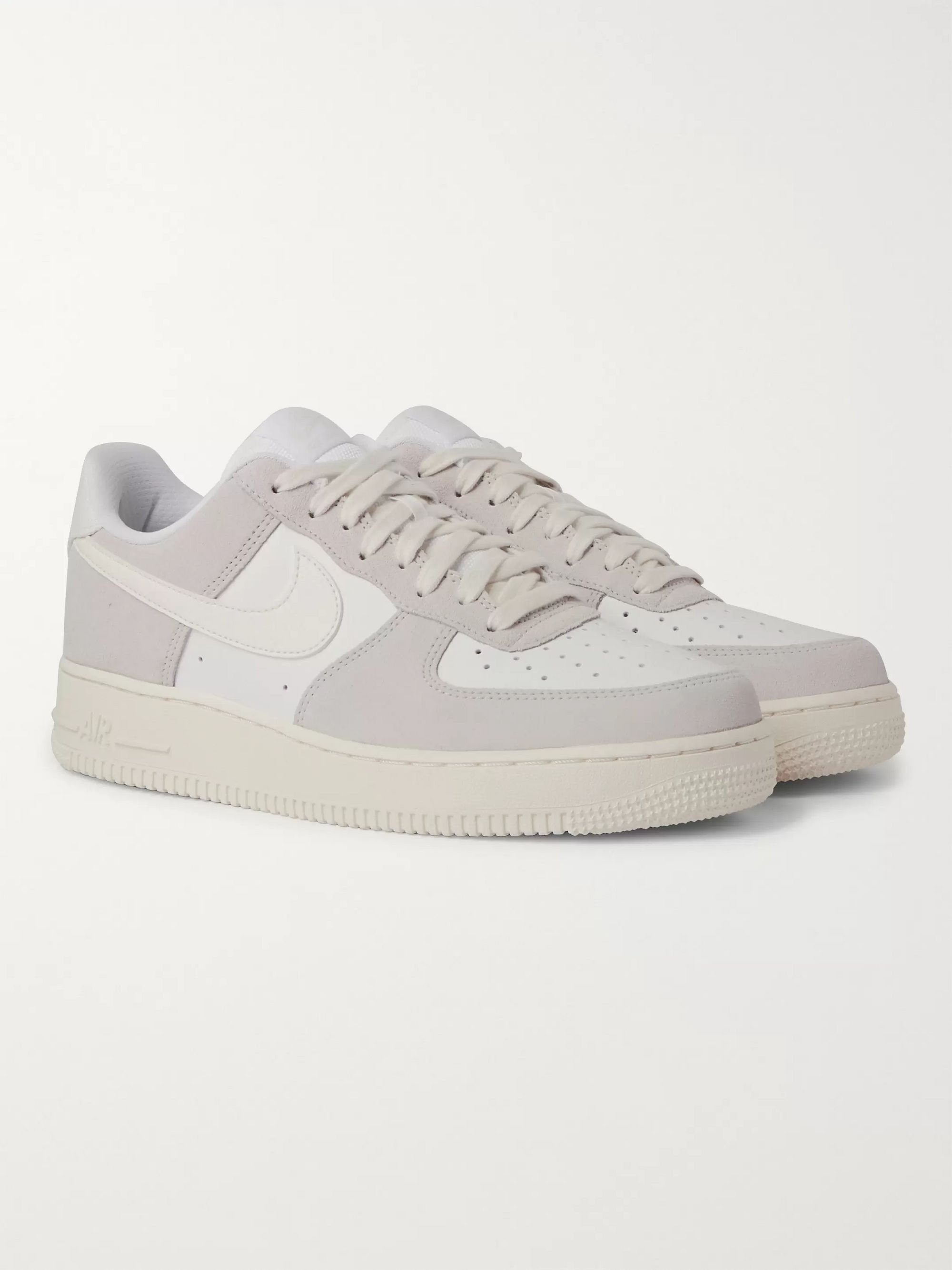 White Nike Air Force 1 LV8 Leather and