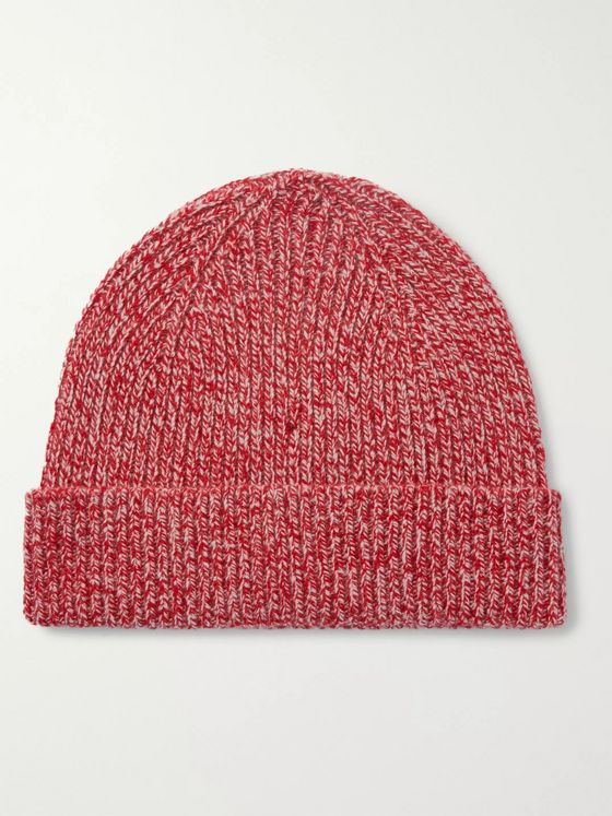 MR P. Ribbed Wool Beanie