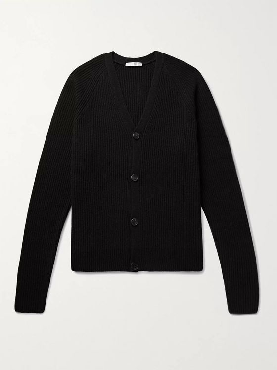 THE ROW Francois Merino Wool and Cashmere-Blend Cardigan