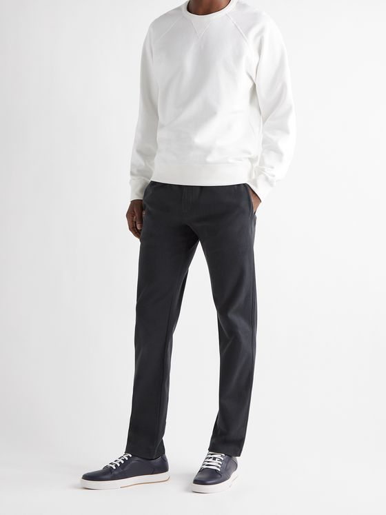 THE ROW Alvaro Slim-Fit Cotton-Jersey Sweatpants