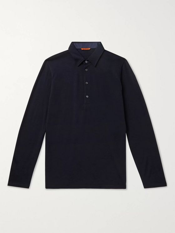 Barena Wool-Blend Polo Shirt